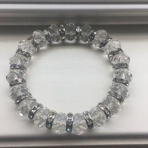 Jewelry - Clear Bead Stretch Bracelet